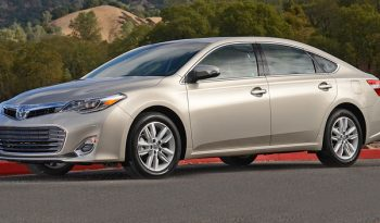 Toyota Avalon LTX, Leather, Sunroof